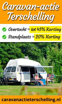Caravan actie Terschelling