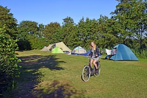 Fietsen camping Cupido Terschelling